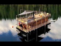 Jalolautta - 145m² Floating house! - YouTube