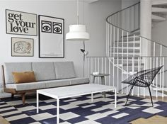 time of the aquarius: its done! ----------- se on nyt valmis! Furniture Design, Living Dining Room, House Design, Living Room Interior, Home And Living, Modern Furniture Living Room, Living Decor, Interior Spaces, Home Decor