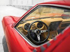 : 1971 Lamborghini Miura P400 SV by Bertone.