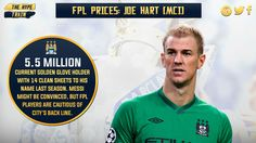 The @premierleague recently posted their top 5 #FPL keepers, but we just don't think Hart will be on the Hype.