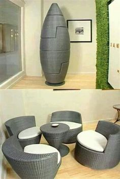 Table and Chairs Storage