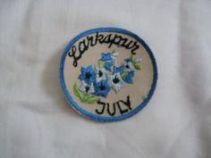 July  70s vintage patch sewon and never used  by UndergroundSkunk, $1.50