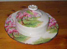 Royal Albert - Blossom Time - Butter Dish