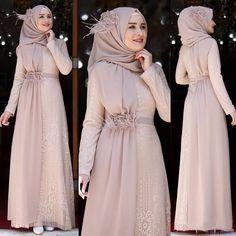 Dress Brokat Muslim, Dress Brokat Modern, Dress Pesta, Muslim Dress, Hijab Evening Dress, Hijab Dress Party, Long Dress Fashion, Fashion Dresses, Dress Muslim Modern