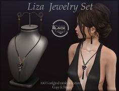 AvaWay-style: LIZA_Jewelry Set Secondlife fashion