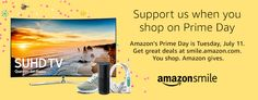 """Amazon Prime Day is coming up on July 11th (Tues)! When you #StartWithaSmile on #PrimeDay, Amazon will donate to Nerd Orchard, Inc.! Be sure to choose """"Nerd Orchard Inc."""" as your charity of choice and grab some great deals @ smile.amazon.com/ch/81-4223255 #thearduinoshop"""