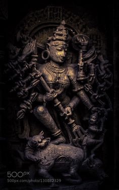 New post on v-ehemence Durga Maa, Durga Goddess, Hanuman, Hindu Dharma, Hampi, Graphic Wallpaper, Indian Gods, World Heritage Sites, Wall Murals