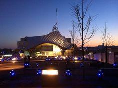 Metz Jyvai :   Le Centre Pompidou au coucher du soleil / Sunset on Pompidou Museum