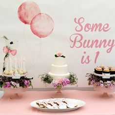 Some Bunny Is 1! A Very Hoppy Birthday Party