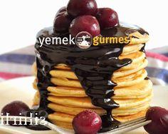 Pancake Tarifi - http://www.yemekgurmesi.net/pancake-tarifi.html