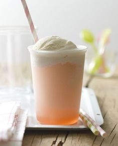 Rhubarb Float