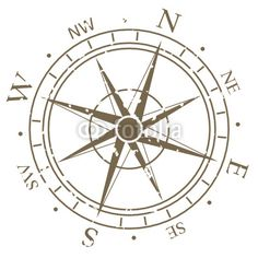 Image detail for -Old fashioned compass rose © Foto Zihlmann #24456164 - See portfolio