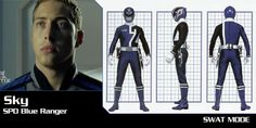 Sky is the coolest SPD ranger ever, for me I prefer him to be the red ranger he is more responsible then Jack