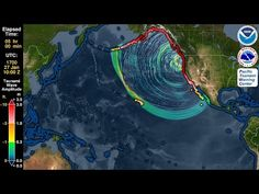 This Simulation Shows What Would Happen If an Earthquake Caused a Mega-Tsunami