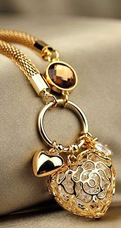 Gold accessories ♥✤ | Keep the Glamour | BeStayBeautiful