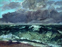 "catarinaloss: "" the scorpio races - + the wave (la vague) - gustave courbet, 1869 "" One Piece Oc, The Blue Boy, Half Elf, The Scorpio Races, Black Sails, Pirate Life, Bioshock, Pirates Of The Caribbean, Story Inspiration"