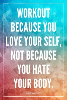 Fitness Motivation : Every week find a new quote about healthy living healthy eating and positive at