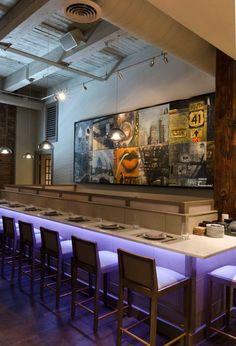 Inside Kabocha restaurant in Chicago - Lighting Design by Katie Possley | Light Channel RGB by Edge Lighting | Letu0027s Meet for Dinner! & Inside Kabocha restaurant in Chicago - Lighting Design by Katie ... azcodes.com