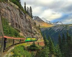 When it comes to train journeys with stellar scenery, it's hard to beat the White Pass & Yukon Railr... - WhitePassRailroad/facebook.com