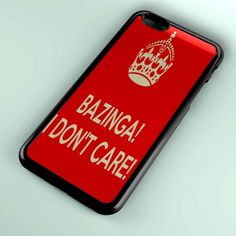 bazinga i don t care P04 for iPhone Case, Samsung Galaxy Case, Blackberry Case, HTC Case, Sony Case – Best Buy Product