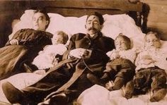 Victorian post mortem photo. Would be interesting to find the back story on this.