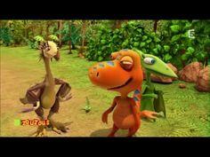 ABC Dino ! L'île du A / L'île du B / L'île du C (dessin animé enfants)