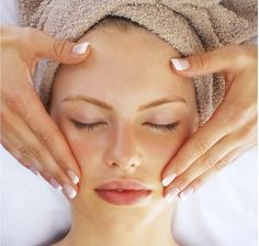Facial massage is something that you must indulge in as it has multiple benefits. For a glowing skin, it is essential to get a face massage done at least twice a month. Spa Facial, Facial Massage, Facial Skin Care, Facial Tips, Spa Massage, Face Facial, Facial Masks, Homemade Facials, Homemade Skin Care