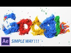 (14) After Effects Tutorial: Particles Logo & Text Animation - YouTube