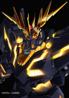 Gundam Black Unicorn
