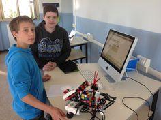 Robotica scuola media 10/04/2015