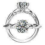 Harout R Designer Diamond Engagement Ring