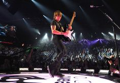 Keith Urban performs onstage during the iHeartRadio Music Festival at the MGM Grand Garden Arena on September 20, 2013 in Las Vegas, Nevada. (Photo by Denise Truscello/Getty Images for Clear Channel)