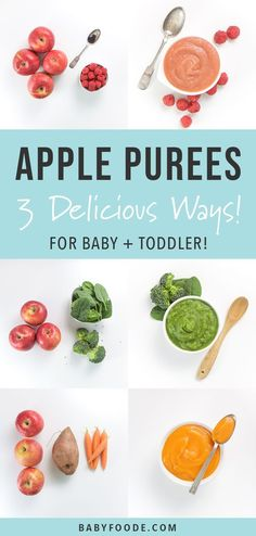 how to make applesauce for baby