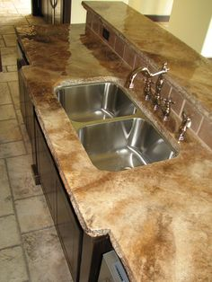 Lovely Concrete Countertops From Mirage Creations