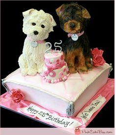 dog cake birthday