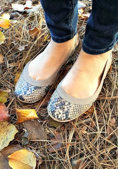 Yosi Samra Samara Snake Print Flats Live Simple, Travel Well: Stitch Fix Review- February 2016  #stitchfix
