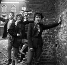 17 Vintage Pictures Of Dapper British Teddy Boys and girls. They are seriously the coolest.