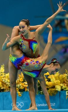 Best synchronised swimming costumes of the London 2012 Olympics, deck work ideas
