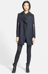 Belstaff 'Paxford' Textured Wool Coat outerware nordstom
