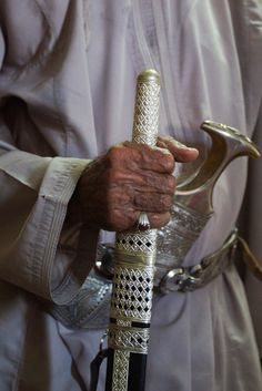 Oman | Detail of Omani Sayf (straight sword). credit: CharlesFred. view on Fb https://www.facebook.com/SinbadsOmanPocketGuide #oman #traveltooman #sinbadpocketguide