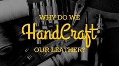 We love machines but not on our leather