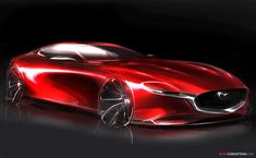 Mazda RX-VISION Concept Wins Major Design Award