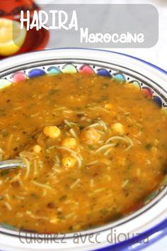 Ramadan recipes 683280574685712020 - Harira soupe marocaine traditionnelle Source by ameufournier Healthy Breakfast Recipes, Easy Dinner Recipes, Soup Recipes, Cooking Recipes, Healthy Recipes, Moroccan Soup, Morrocan Food, Plats Ramadan, Algerian Recipes