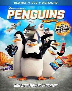 PENGUINS OF MADAGASCAR-MOVIE (BLU-RAY/DVD/DIGITAL HD/2 DISC)CHILDREN/FAMILY Genre: CHILDREN/FAMILY Media Format: Blu-Ray Rating: PG
