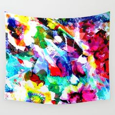 Available in three distinct sizes, our Wall Tapestries are made of Flower Wall, My Flower, Flowers, New Age, Summer Of Love, Wall Tapestry, Vivid Colors, Hand Sewing, Boho Fashion