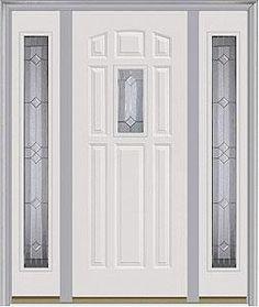Door with two sidelites. Milliken Millwork. Majestic Elegance - 640ME & Entry door. Single door. Milliken Millwork. 9-Panel - 158 | Entry ... pezcame.com