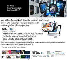 Promo buat website murah - dapatkan jasa seo gratis dan google adwords gratis untuk setiap pembelian layana pembuatan website di www.edricweb.com