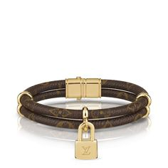 Bracciale Keep It Twice in tela Monogram via Louis Vuitton