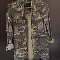 Forever 21 Military Jacket ✅ Small Forever 21 Military jacket. Only worn about twice so it's still in really good condition.  ✅ Only accepting PayPal payment method.  ✅ Shipping will not be included with selling price.  #happyshopping  Forever 21 Jackets & Coats
