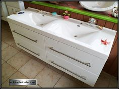 Mobilier baie suspendat Marak 140 cm Sink, Vanity, Bathroom, Home Decor, Sink Tops, Dressing Tables, Washroom, Vessel Sink, Powder Room